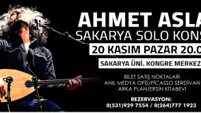 Ahmet ASLAN Konseri – Sakarya Üniversitesi – 20 Kasım 2016